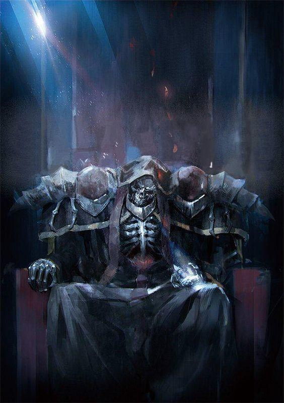 Throne Of Ainz Ooal Gown Overlord Know Your Meme