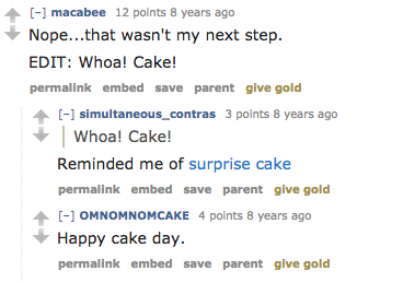 Cake Day   Know Your Meme