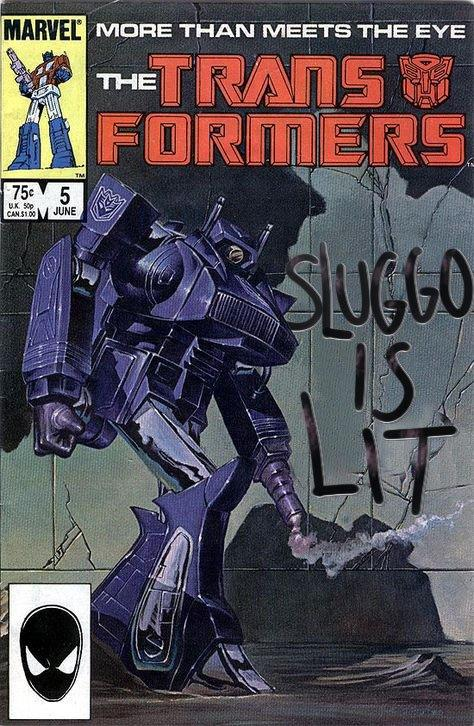 MARVEL MORE THAN MEETS THE EYE THE FORIMERS SLUG60 15 LIT