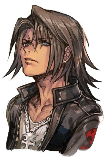 Squall Leonhart By Hankuri Final Fantasy Know Your Meme