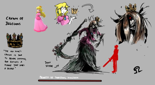 A Crown That Turns Princesses Into Dark Souls Bosses