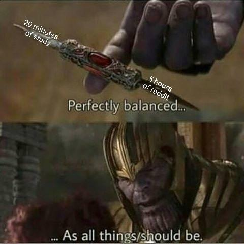 Perfectly Balanced Know Your Meme Ask motherazeroth a question #i do have an alt i sometimes raid on in horde in my old guild #hes a zandalari ofc #perfectly balanced as all things should be #tho them axeing sylvanas has me kinda sore #she was 99% of my reason to love. perfectly balanced know your meme