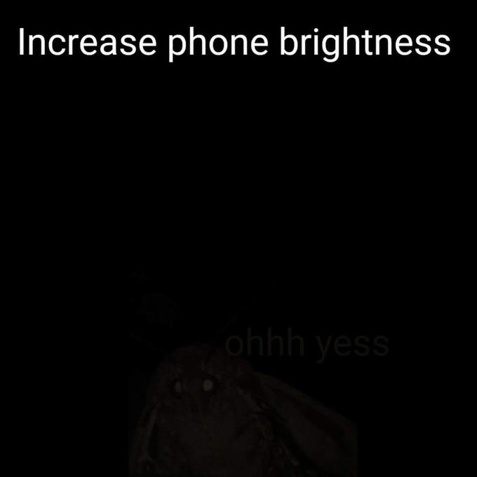 Increase Phone Brightness | Know Your Meme