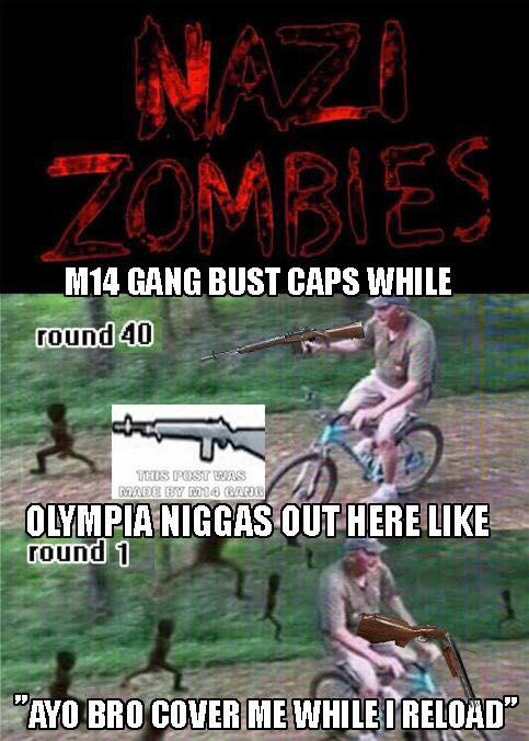 Nazi Zombies | M14 Gang | Know Your Meme
