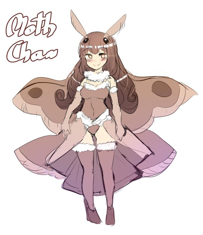 Moth Girls | Know Your Meme
