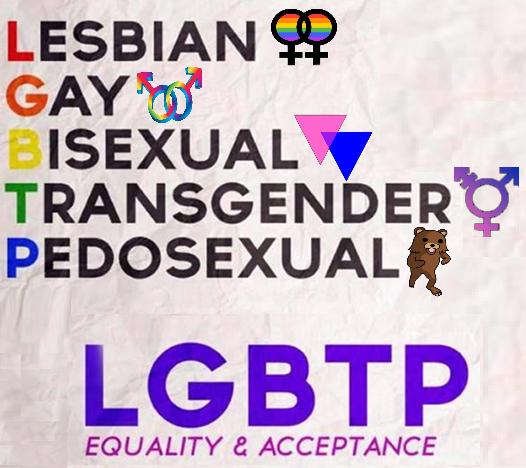 Image result for pedophiles lgbt meme