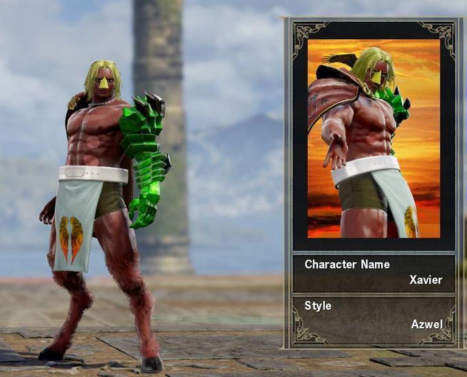 SoulCalibur VI Custom Characters | Know Your Meme