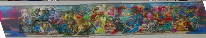 Geno Shadow Banjo Kazooie Mach Ride art modern art painting