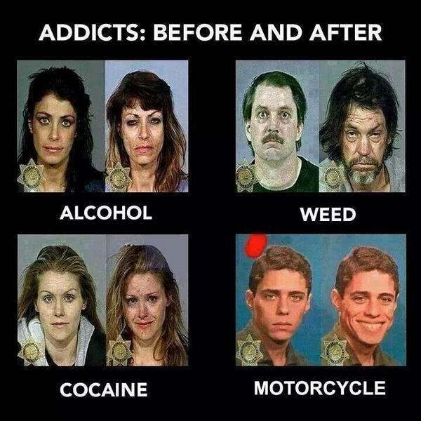 Addicts Before And After Know Your Meme