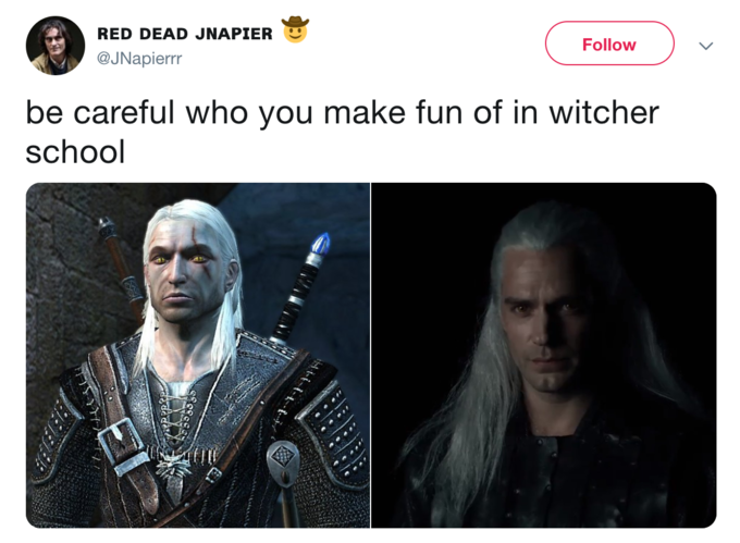 The Witcher Know Your Meme