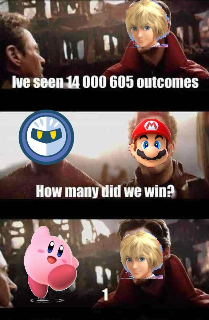 Everyone Is Dead Except Kirby Know Your Meme