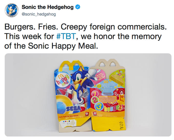 Pakistani Mcdonald S Sonic The Hedgehog Happy Meal Commercials