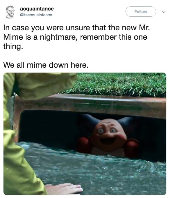 We Re All Mime Down Here Creepy Mr Mime Know Your Meme Amazing va dreams dreamswap reacts to memes + nightmare and dream part 2(sub.ing/esp). creepy mr mime