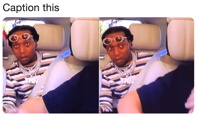 Takeoff S Carpool Karaoke Reaction Know Your Meme