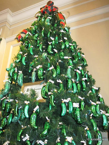 Pickle Tree Christmas Pickle Know Your Meme