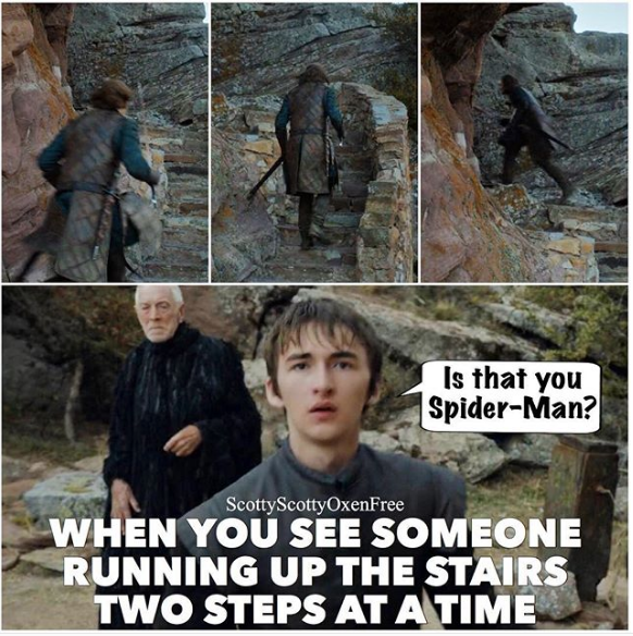 People Who Go Up Two Stairs At A Time Know Your Meme