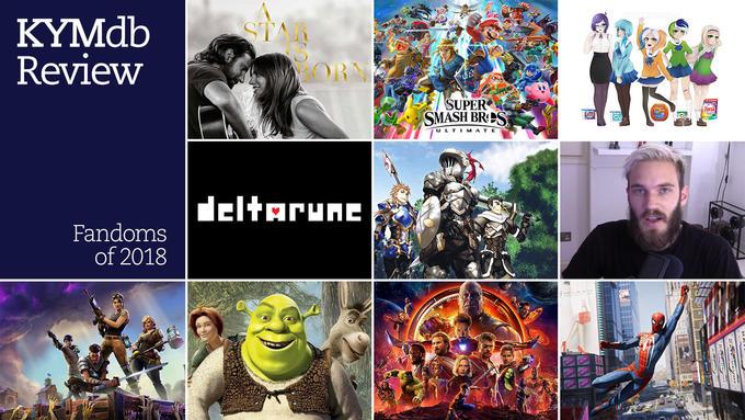 KYM Review: Fandoms of 2018   MemeSEM