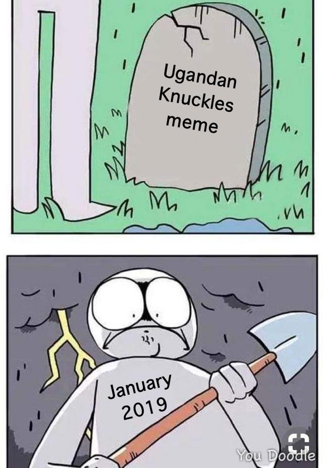 Ugandan Knuckles Know Your Meme