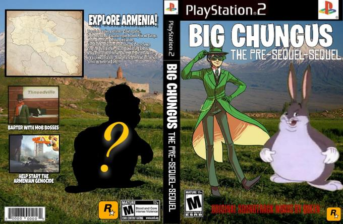 PlayStation.2 EXPLORE ARMENIA3 man aadaar creserAomenian Chinkto &.hoe frap ionmey acrs the bordcr in Curfo THE PRE-SEQUEL SEDUEL ru Thneeddville BARTER WITH MOB BOSSES HELP START THE ARMENIAN GENOCIDE MATURE 17 MATURE Blood and Gore Intense Violence ORIGINAL SOUNDTRACK MUSIG BY QUEEN 00 ·0000