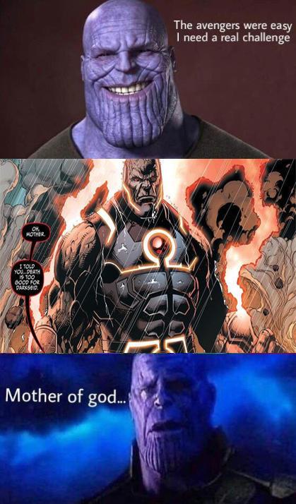Better watchout on Darkseid, Thanos! | Death Battle | Know Your Meme