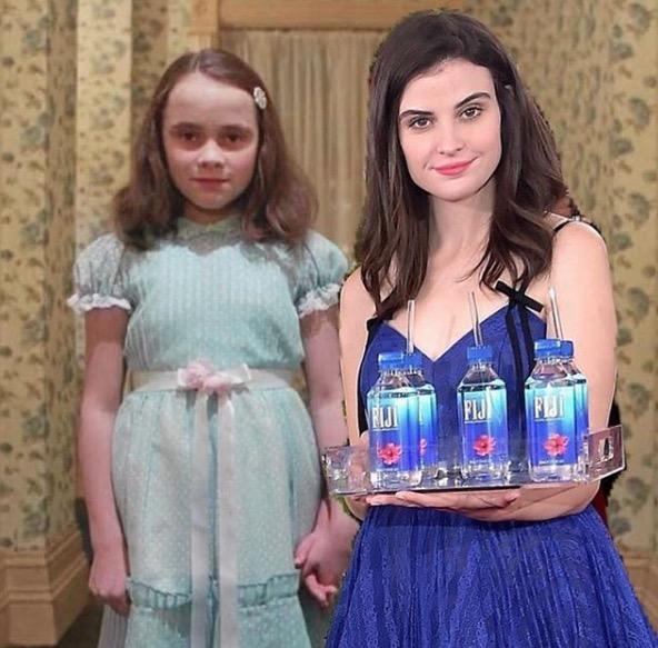 Fiji Water Girl Know Your Meme
