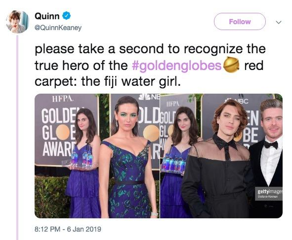 Fiji Water Girl | Know Your Meme