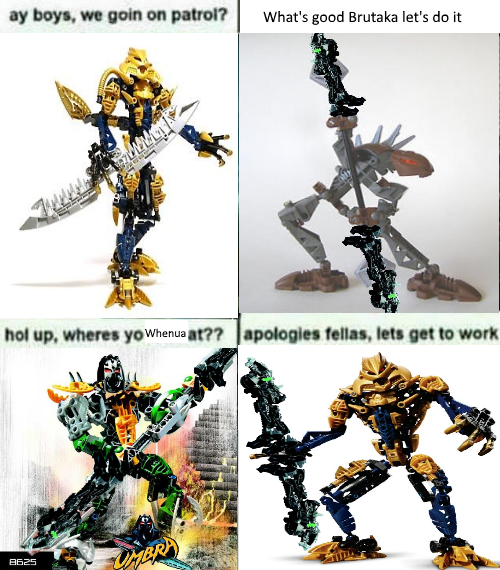 Federation Of Whenua Bionicle Instructions Know Your Meme
