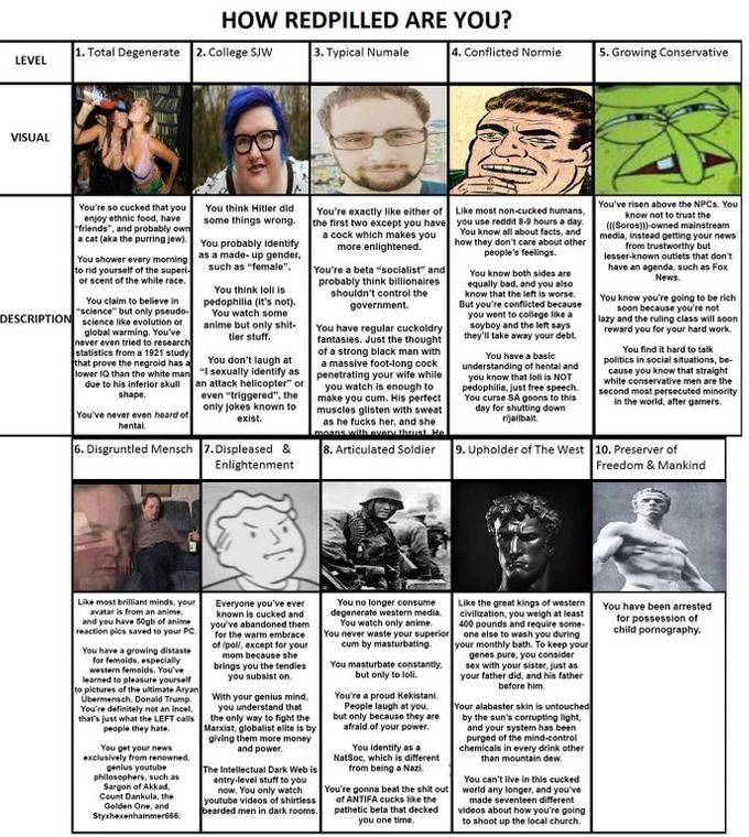 How Redpilled are you? | Red Pill | Know Your Meme