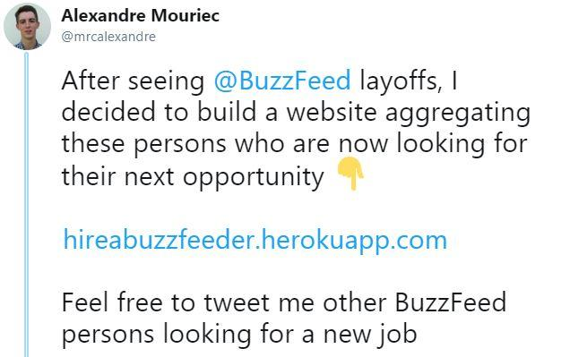 2019 Buzzfeed and HuffPost Layoffs | Know Your Meme