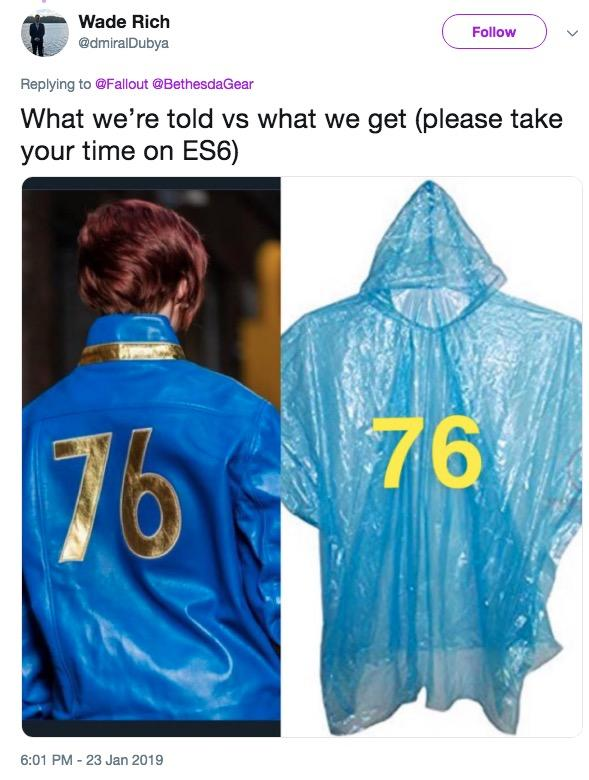 Fallout 76 Jacket | Know Your Meme