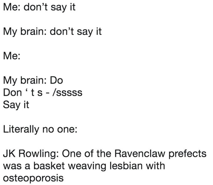 J K  Rowling Tweet Parodies   Know Your Meme