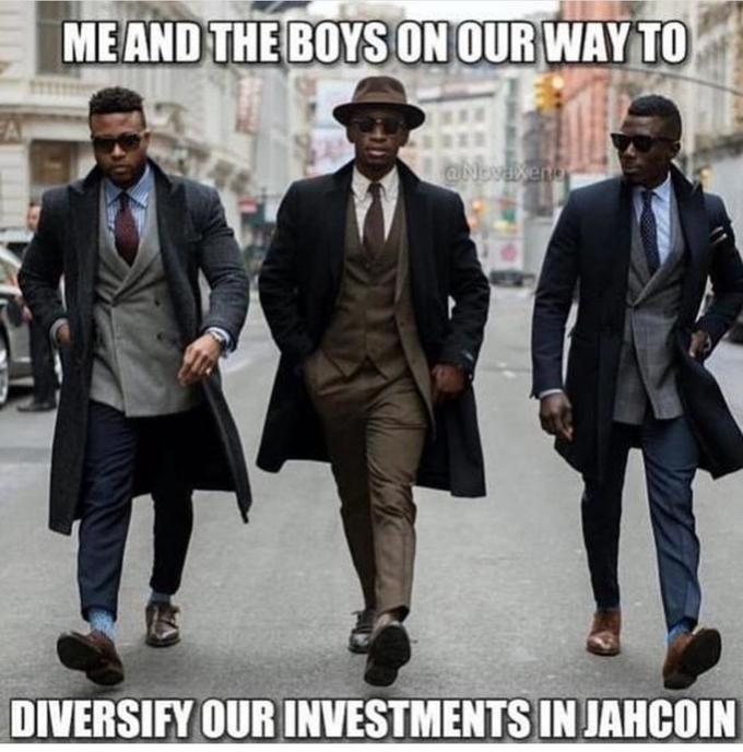 MEAND THE BOYS ON OURWAY TO DIVERSIFY OUR INVESTMENTS IN JAHCOIN New York Fashion Week Suit Gentleman Male Fashion Outerwear Footwear White-collar worker Human