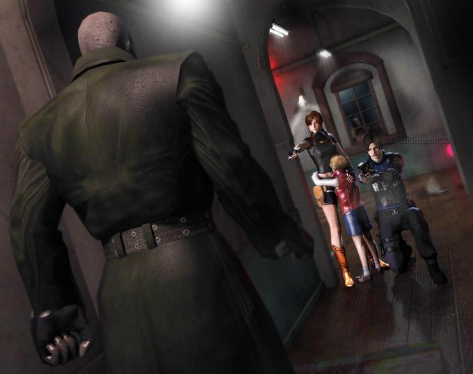 resident evil 2 mr x 1998