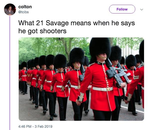 The Best 21 Savage Memes England