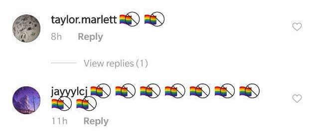 Crossed-Out Pride Flag Emoji Combination | Know Your Meme