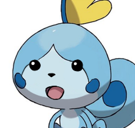 Surprised Sobble Pokemon Sword And Shield Know Your Meme