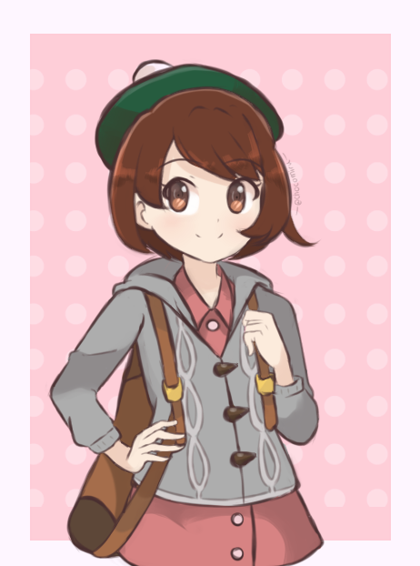 Art For The Female Player In Pokemon Sword And Shield By