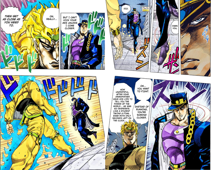 Oh? You're Approaching Me? / JoJo Approach | Know Your Meme