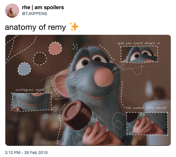 Remy Proper Anatomy Know Your Meme