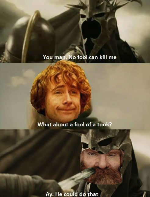 Image result for lord of the rings what the fook