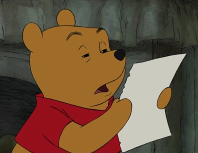 Winnie the Pooh Reading | Know Your Meme