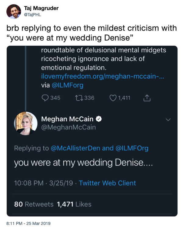 You Were at My Wedding Denise  Know Your Meme
