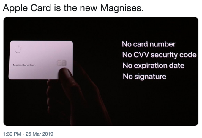 Apple Card | Know Your Meme