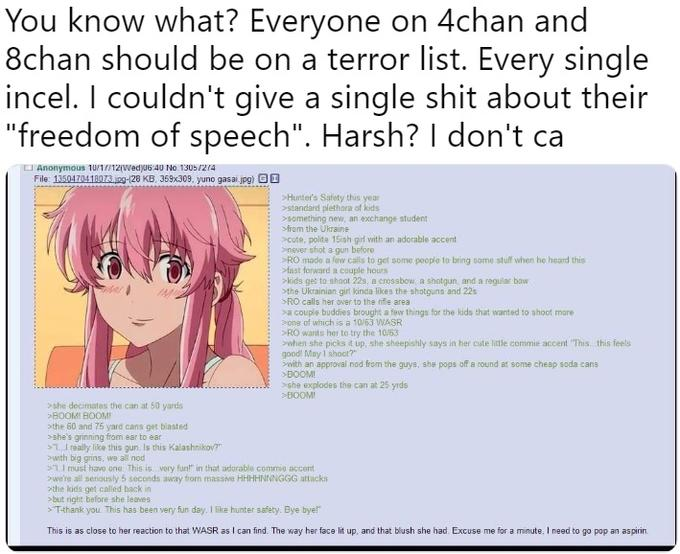 Everyone on 4chan Should Be on a Terror List | Know Your Meme