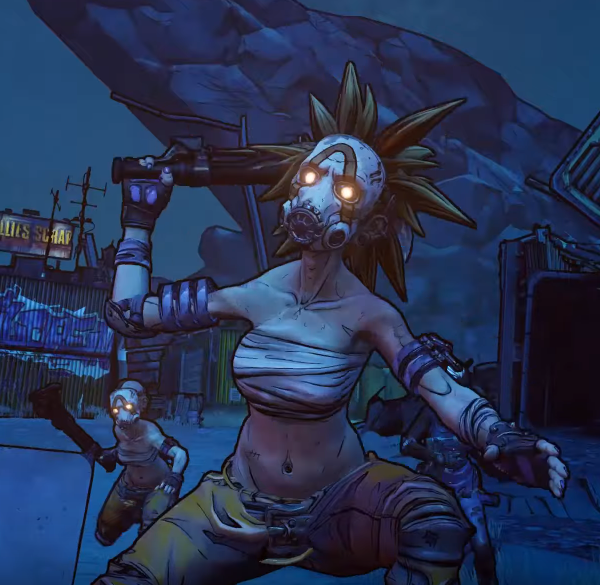 Oh And There Are Female Psychos Now Borderlands 3 Know Your Meme