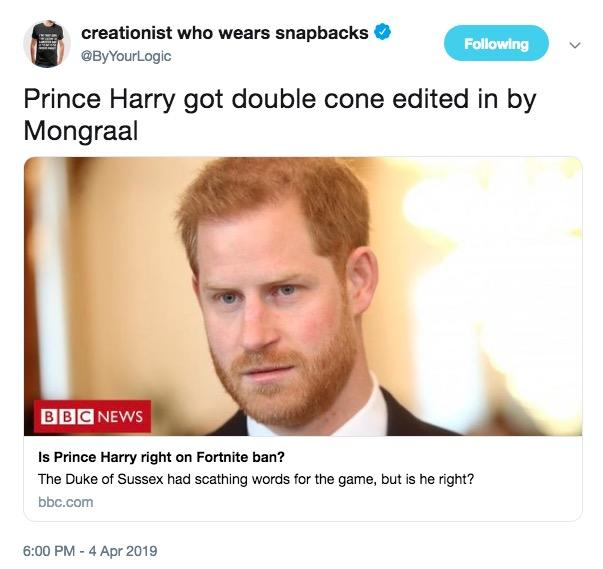 Prince Harry Wants Fortnite Banned Variety - Projectdetonate com