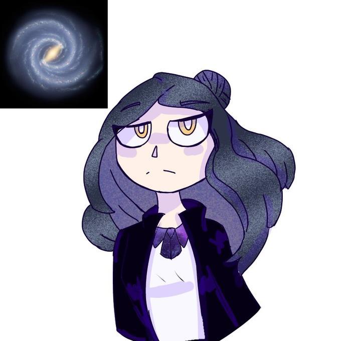 Cartoon Violet Animated cartoon Fictional character Purple Animation Illustration