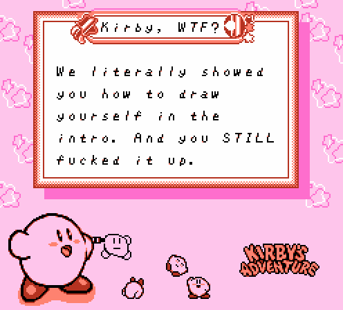 Kirby Not An Artist Death Generator Know Your Meme