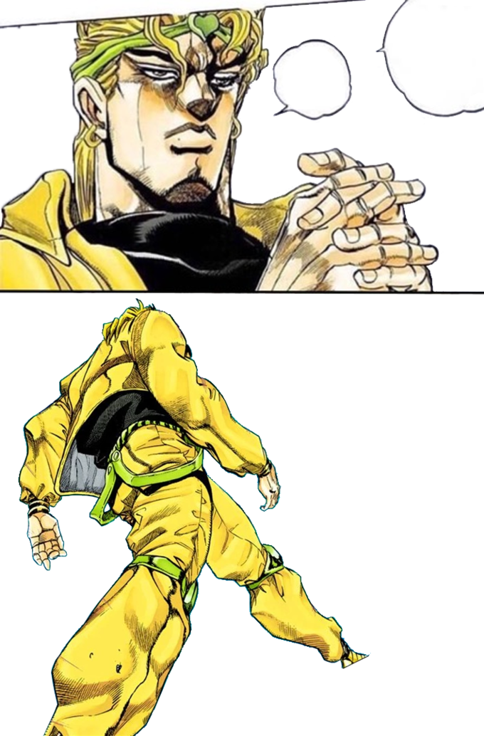 Dio Walk Gamer Dio Know Your Meme