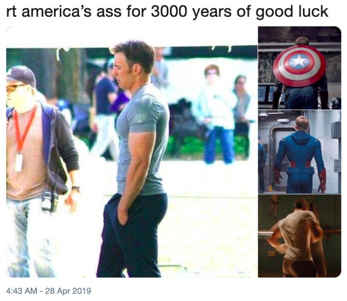 Captain America's Ass | Know Your Meme